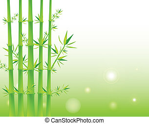 Bamboo Background - Green Bamboo Background