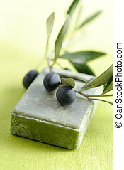 Soap with natual ingredients