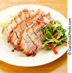BBQ Pork and Crispy Pork - pork BBQ Pork and Crispy Pork