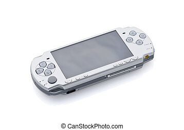 Playstation portable psp - Console portable isolated on...