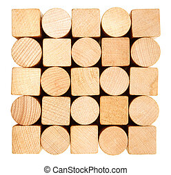 Stack of lumber