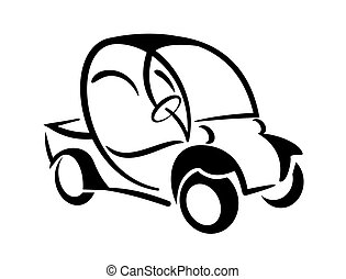Club car - An illustration of club car icon