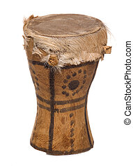 african drum cutout