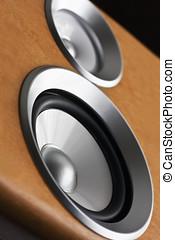 audio stereo system sound speaker - High fidelity audio...