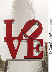 LOVE - Love Park is a plaza located in Center City,...
