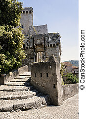 main gate - sermoneta