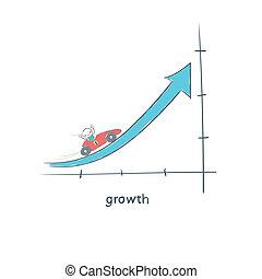 Growth. Illustration.