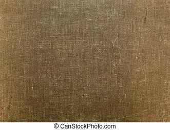 grunge cloth texture. old book cover.