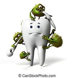 歯, バクテリア