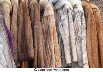 Fur coats - Real genuine animal fur coats and jackets
