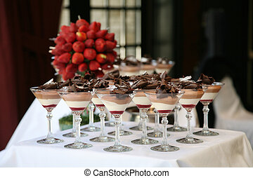 Dessert Table at Wedding Reception
