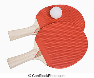 Ping Pong Paddles and Ball - Ping Pong paddles and ball...