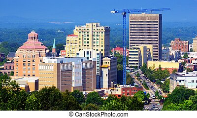 Asheville  - Downtown Asheville, North Carolina