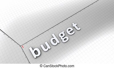 Growing chart - Budget - Concept animation, growing chart -...