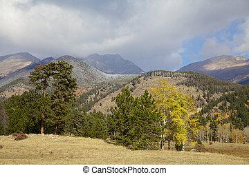 Colorado Rockies in Fall