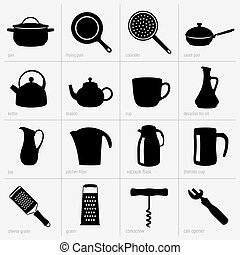 Kitchenware - Set of kitchenware (part 2)
