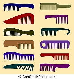 Combs - Set of combs