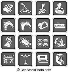computer icons 4 - Collection of different computer icons -...