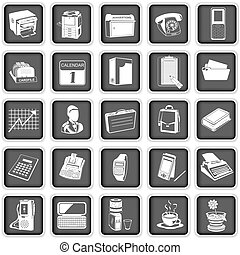 office icons - Collection of different office icons