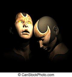 cyborg sisters