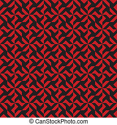 Seamless Red and Black Pattern - Repeating background