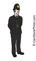 English Bobby - English policeman