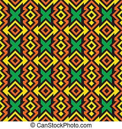 Seamless african pattern - Fashion fabric