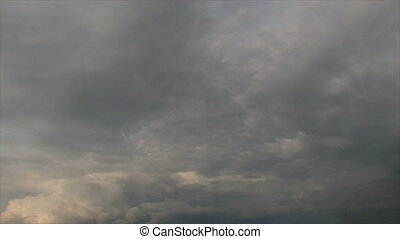 Storm Clouds Time Lapse - Time lapse of storm clouds forming