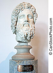 Asclepius - The god of medicine, Asclepius in Palatine...