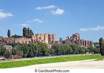 The Circus Maximus and Paltine Hill - The Circus Maximus...