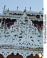 Pan Soi, Tai Yai traditional roof decoration - Pan Soi is a...