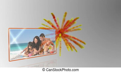 Holiday fun montage - Holiday fun at the beach with family...
