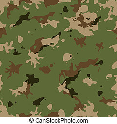 Seamless Military Camouflage