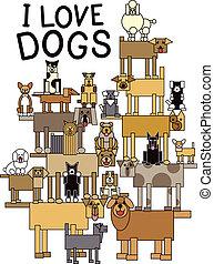 i, Amor, cachorros