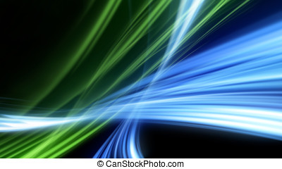 Abstract strokes of light , tech background