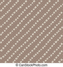 Seamless vector textile floral