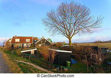 Marken a small village in The Netherlands - Marken a small...