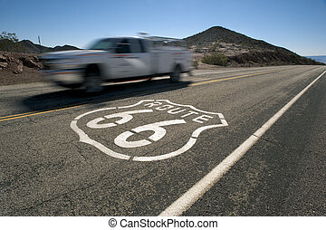 route 66 speed