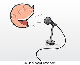 Floating Head With Microphone