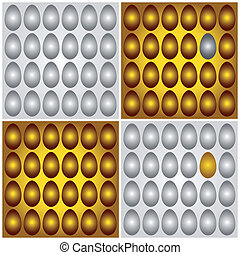 Golden and silver eggs