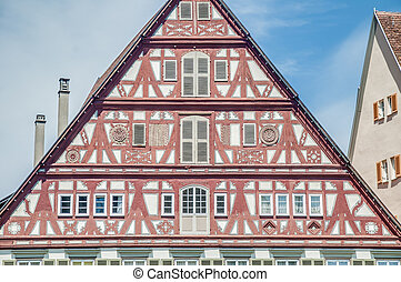 Kielmeyer House in Esslingen am Neckar, Germany - Alfred...