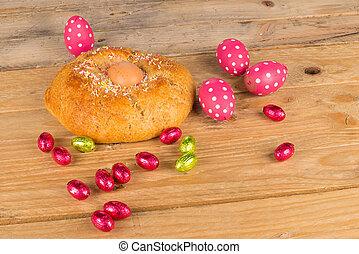 Torta, húsvét, spanyol