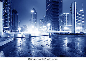 Urban Landscape of the rain