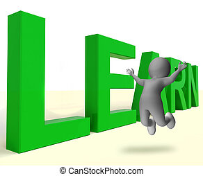 Learn Word Showing Education Training Or Learning - Learn...