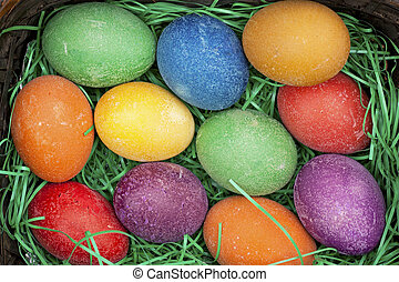 Easter eggs - Beautifully decorated Easter eggs