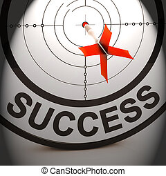 Success Shows Best Financial Achievement Solution - Success...