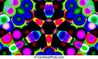 Bright kaleidoscope