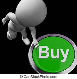 Buy Button For Commerce And Retail Purchasing - Buy Button...