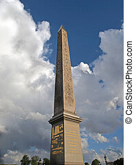 Paris - the obelisk in Concorde Square