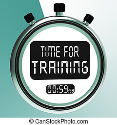 Time For Training Message Meaning C